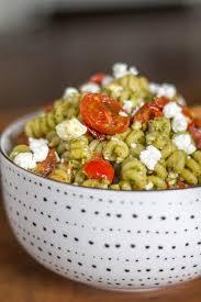 Pasta Salad Mayo by Pesto Pasta Salad Thekittchen