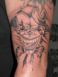 clown small tattoos for men ideas images clown small tattoos