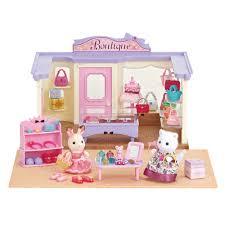 sylvanian families boutique gift set toys r us