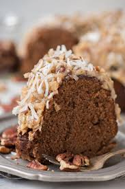 german chocolate bundt cake the first year