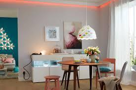 Esszimmer Leuchten Futuristische Holz Sitzgruppe Led Licht Design