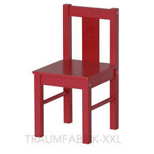 ikea drehstuhl kinderzimmer kinder stühle in rot ebay