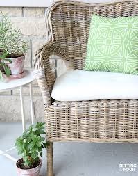Outdoor Waterproof Furniture by How To Make Outdoor Waterproof Cushions Diy Hack Setting For Four