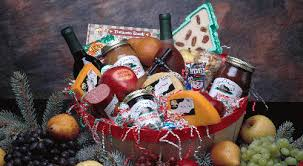 sausage and cheese gift baskets wine baskets huberwinery