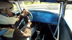 183 vw bug drag racing bad car crash in u0026 out car camera youtube