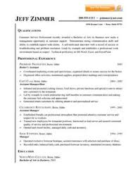 Resume Customer Service Sample by Resume Sample Customer Service Job This Sample Resume Is In The
