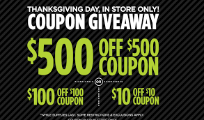 ahhh 500 off 500 jcpenney coupon event