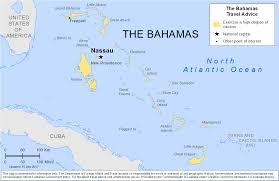Bahama Islands Map Smartraveller Gov Au The Bahamas