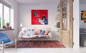 living room minimalist simple scandinavian living room design
