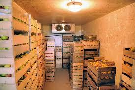 les chambre froide chambre froide pour fruits et legumes idées incroyables stockage des
