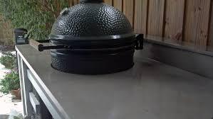 Outdoor Kitchen Countertop Ideas Countertops Simple Outdoor Kitchen With Concrete Countertop And