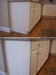 what glue to use on kitchen cabinets add paneling to open cabinet sides for a and easy