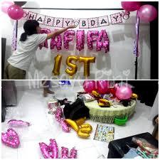 Diy Sweet Corner Ulang Tahun Ifa Mesayu Rini