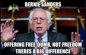 Exactly Meme - meme reveals exactly what bernie sanders is offering