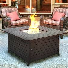 Patio Tables With Fire Pit Fire Pits Patio Recycled Glass Heat Beads Fire Pit Appealing