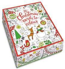 20 christmas cards to colour u201d at usborne books at home
