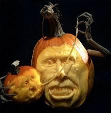 Smashing Pumpkins Halloween - amazing pumpkin sculptures