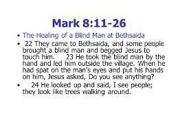 Blind Man At Bethsaida Welcome To Dingwall U0026 Strathpeffer Free Church Happy New Year God