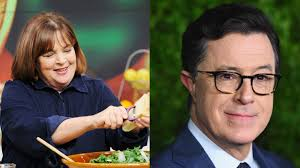 ina garten made stephen colbert the cover star of her u201cnew