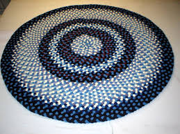 Braided Kitchen Rug Handmade Braided Rugs By Marge A 6 U0027 Round Braided Rug With 6 2