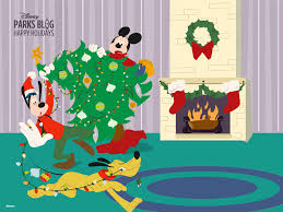 download u0027happy holidays u0027 wallpaper u2013 starring mickey goofy