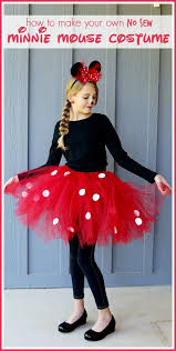 minnie mouse costume diy minnie mouse costume yep no sew minnie mouse costume mouse