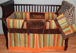 Orange Crib Bedding Top Orange Crib Bedding Home Inspirations Design Orange Crib