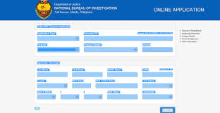 nbi online form and its processes