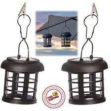 Patio Pillar Lights Solar Lantern Led Garden Patio Cing Walkway Lights Portable
