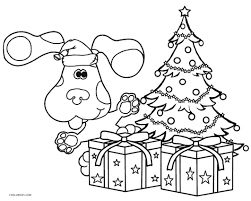 free printable blues clues coloring pages kids cool2bkids