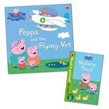 peppa pig peppa flying vet free nature trail mini