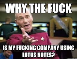 Meme Notes - i hate lotus notes home facebook