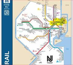metlife stadium map nj transit trains from all highlighted in yellow from nyc