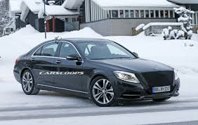 facelifted mercedes benz s class said to come next march with new