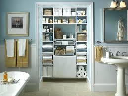 Open Bathroom Shelves Open Bathroom Shelves Open Bathroom Storage Closet Organizing