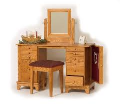 Unfinished Wood Vanity Table Remarkable Unfinished Vanity Table With Amish Handcrafted Shaker