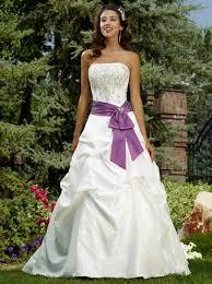 purple white wedding dress wedding ideas purple wedding theme