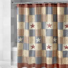 patriotic patchwork shower curtain christmas tree shops andthat