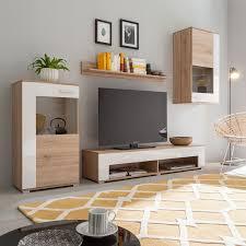 Wohnzimmerschrank Beige Beige Hochglanz Wohnwände Und Weitere Wohnwände Günstig Online