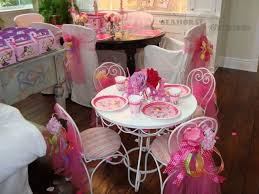 tea party table and chairs seahorse stripes a fancy nancy inspired butterfly birthday tea party