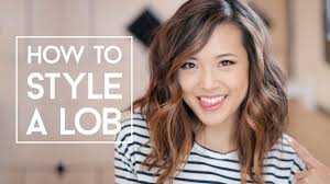 how to style a lob no heat u0026 curls youtube