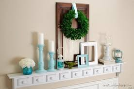 entry shelf wall shelf spring decor
