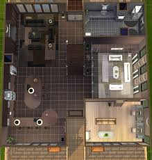 mod the sims maha 3 story modern house