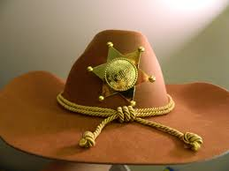 cowboy hat halloween carl grimes hat the walking dead sheriff rick costume