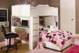 Youth Bedroom Set With Desk Amazon Com South Shore Complete Loft Bed Logik Sand Castle