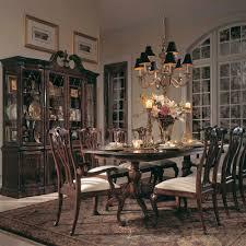 american drew cherry grove 10 piece dining room set in antique