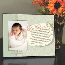 remembrance picture frame picture frame with lullaby poem memorial picture frame