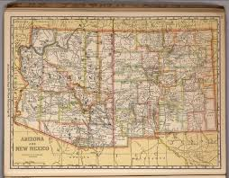 New Mexico Maps by Arizona And New Mexico David Rumsey Historical Map Collection