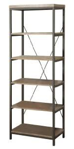 amazon com homelegance 3228 12 bookcase shelves brown black