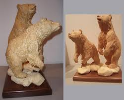 wood carving or sculptures